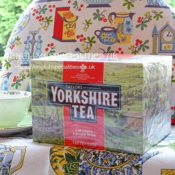 【Yorkshire Tea】 160 Teabags<br>ヨークシャー紅茶 160ティーバッグ