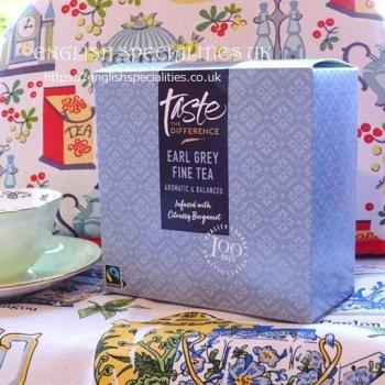 【Sainsbury's】Earl Grey 100 Teabags<br>セインズベリー紅茶 アールグレイ:100ティーバッグ