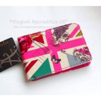 <img class='new_mark_img1' src='https://img.shop-pro.jp/img/new/icons20.gif' style='border:none;display:inline;margin:0px;padding:0px;width:auto;' />★Sale!【Accessorize】Union Jack With Love Card Holder<br>アクセサライズ ユニオンジャックカードホルダー