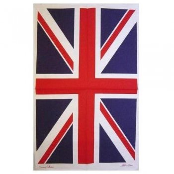【Samuel Lamont】COTTON Tea Towel:UNION JACK<br>コットンティータオル:ユニオンジャック