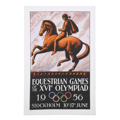 ★Sale!【Ulster Weavers】Stockholm1956 Cotton T/Towelストックホルム1956オリンピックコットンティータオル