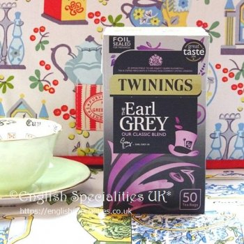 【Twinings】 Earl Grey 50 Teabags<br>トワイニング アールグレイ  : 50 ティーバッグ