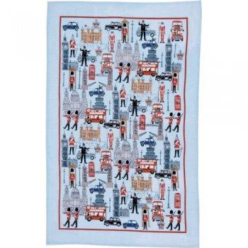 【Ulster Weavers】Iconic Britain Linen Tea Towel<br>アルスターウィーバー アイコニックブリテン リネンティータオル