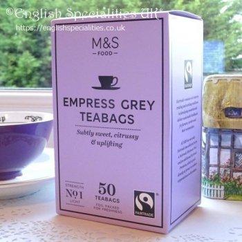 【M&S】Empress Grey 50 Teabags<br>マークス&スペンサー  エンプレスグレイ:50ティーバッグ