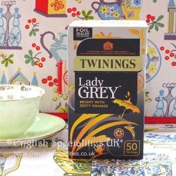 【Twinings】 Lady Grey<br>トワイニング レディー グレイ  : 50 ティーバッグ
