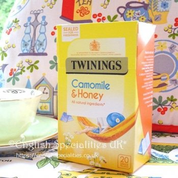 <img class='new_mark_img1' src='https://img.shop-pro.jp/img/new/icons26.gif' style='border:none;display:inline;margin:0px;padding:0px;width:auto;' />【Twinings】 Camomile & Honey<br>トワイニング カモミール&ハニーティー: 20バッグ