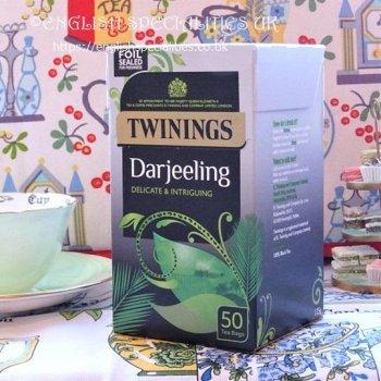 【Twinings】 Darjeeling <br>トワイニング ダージリン : 50 ティーバッグ
