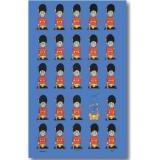 【Samuel Lamont】COTTON Tea Towel:Guardsmen<br>サミュエルラモント コットンティータオル:ガーズメン