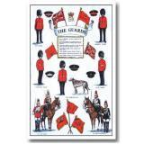 【Samuel Lamont】COTTON Tea Towel:The Gurards<br>サミュエル・ラモント コットンティータオル ザ・ガーズ