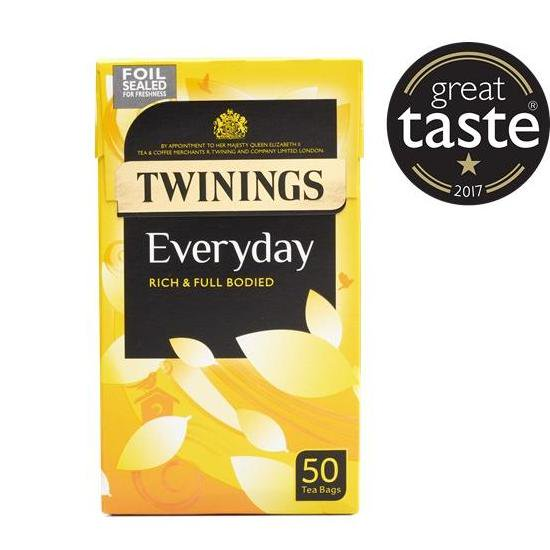 【Twinings】 Everyday 50Teabagsトワイニング エブリデイ紅茶:50ティーバッグ