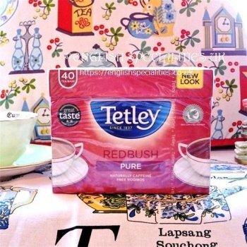 【Tetley】 Redbush Tea<br>テトリー レッドブッシュティー: 40バッグ