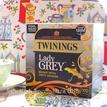 【Twinings】Lady Grey:100Bags <br>トワイニング レディー グレイ :100ティーバッグ
