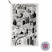 【Emma Bridgewater】LONDON Tea Towel<br>エマ・ブリッジウォーター ロンドン ティータオル