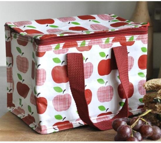 【dotcomgiftshop】 Lunch Bag - APPLE保冷ランチバッグ - アップル