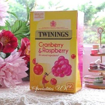 【Twinings】Cranberry & Raspberry<br>トワイニング クランベリー&ラズベリー:20バッグ