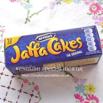 <img class='new_mark_img1' src='https://img.shop-pro.jp/img/new/icons31.gif' style='border:none;display:inline;margin:0px;padding:0px;width:auto;' />【MCVITIE'S】Jaffa Cakes (10)<br>マクビティー ジャファケーキ(10枚入り)