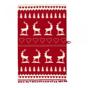 【Ulster Weavers】J.Constantine Xmas STAG Tea Towel<br>ジャンコンスタンティン スタッグティータオル