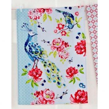 【Ulster Weavers】Peacock Cotton Tea Towel<br>ピーコック コットン ティータオル