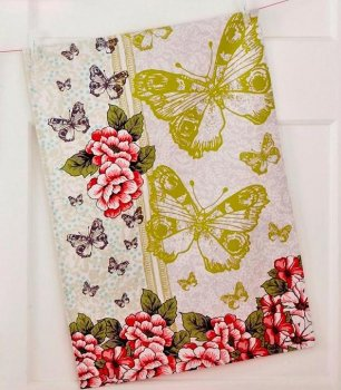 【Ulster Weavers】Botanica  Cotton Tea Towel<br>アルスターウィーバー ボタニカ コットン ティータオル