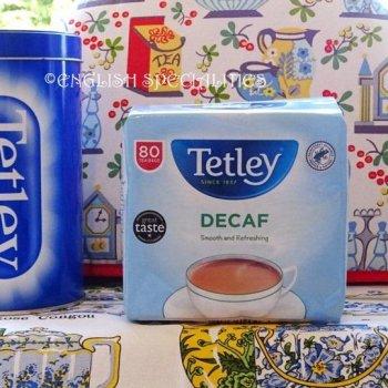 【Tetley】 Decaf 80 Teabags <br>テトリー 紅茶 デカフェ : 80 ティーバッグ