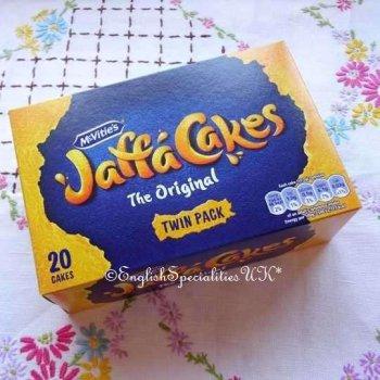 【MCVITIE'S】Jaffa Cakes(20)<br>マクビティー ジャファケーキ (20枚入り)