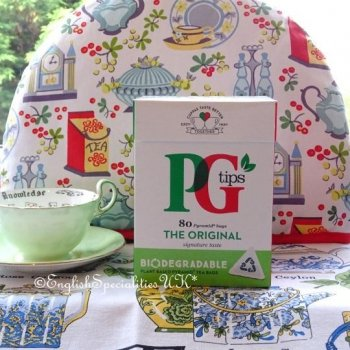 【PG Tips】 80 Teabags<br>紅茶 80ティーバッグ