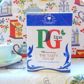 【PG Tips】 Decaf 70 Teabags<br>ピージー ディカフェ 紅茶 70ティーバッグ