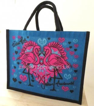 【ASDA】Tickled Pink Juco Eco Bag<br>アスダ ジューコ エコバッグ フラミンゴ