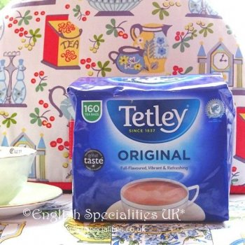 【Tetley】 160 Teabags <br>テトリー 紅茶 : 160 ティーバッグ