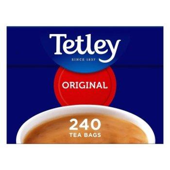 【Tetley】 240 Teabags <br>テトリー 紅茶 : 240ティーバッグ