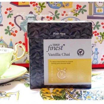 【Tesco】 Vanilla Chai Tea 50 Bags<br>テスコ バニラチャイティー 50 ティーバッグ