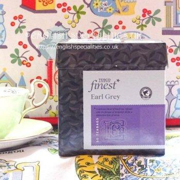 【Tesco】 Earl Grey Tea<br>テスコ アールグレイティー  : 50 ティーバッグ