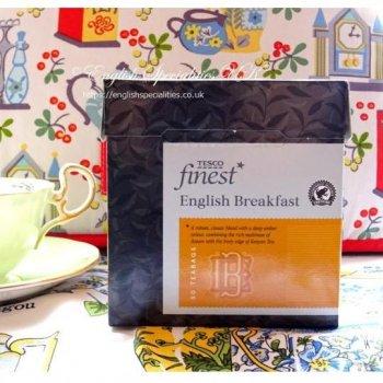【Tesco】 English Breakfast 50 Bagsテスコ イングリッシュブレックファースト 50 ティーバッグ