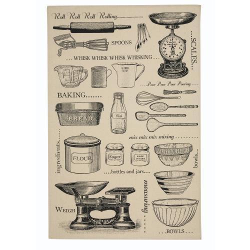 【Ulster Weavers】Baking Cotton Tea Towelアルスターウィーバー ベーキング コットン ティータオル