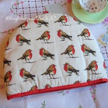 【Ulster Weavers】Madeleine Floyd  Robins Tea Cosy<br>マデリン・フロイド ロビン ティーコージー