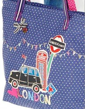 【Accessorize】LONDON TAXI Shopper Bag <br>アクセサライズ ロンドンタクシー ショッパーバッグ