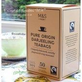 【M&S】Darjeeling 50 Teabags<br>マークス&スペンサー ダージリン: 50 ティーバッグ