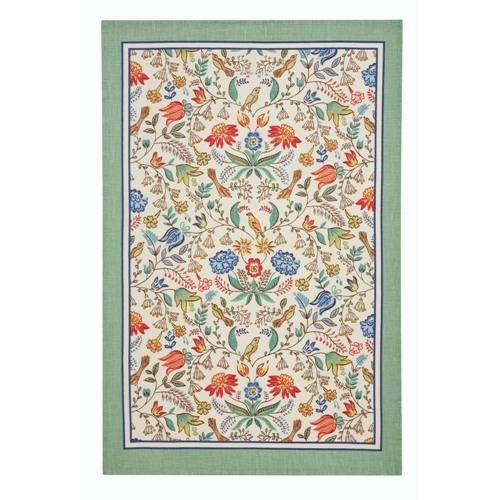 【Ulster Weavers】Arts & Crafts Linen Tea Towelアート&クラフト リネンティータオル