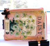 "★Sale!【Disaster Designs】IN BLOOM ""DAISY"" SEED MAKEUP BAGディザスターデザイン インブルーム デイジーメークアップバッグ"