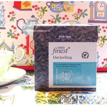 【Tesco】Darjeeling Tea<br>テスコ  ダージリンティー  : 50 ティーバッグ