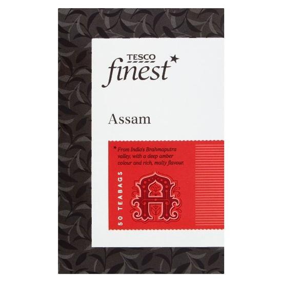 【Tesco】 ASSAM  Tea 50 Bagsテスコ アッサム ティー 50 ティーバッグ
