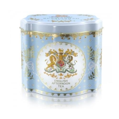 【Royal Collection】 Georgian Tea Caddy BLUE/ Afternoon Teaバッキンガム宮殿 ジョージアン ティーキャディー ブルー/アフタヌーンティー