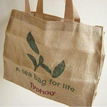 【Typhoo】A tea bag for life Jute Eco Bag<br>タイフー ティーバッグ フォー ライフ ジュート エコバッグ