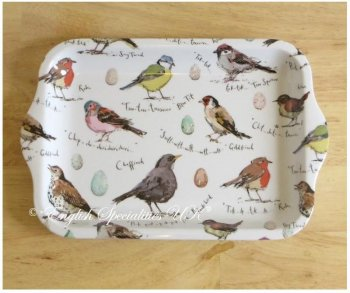 【Madeleine Floyd】 Birdsong Small Melamine Tray<br>マデリンフロイド スモール メラミン トレイ