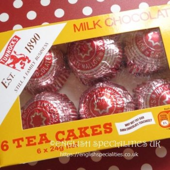 <img class='new_mark_img1' src='https://img.shop-pro.jp/img/new/icons30.gif' style='border:none;display:inline;margin:0px;padding:0px;width:auto;' />【Tunnock's】Milk Chocolate 6 Teacakes<br>タンノック ミルクチョコレートティーケーキ 6個