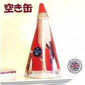 ≪EMPTY TIN≫【M&S】Santa Tin <br>★空き缶 マークス&スペンサー サンタ缶(缶のみ)