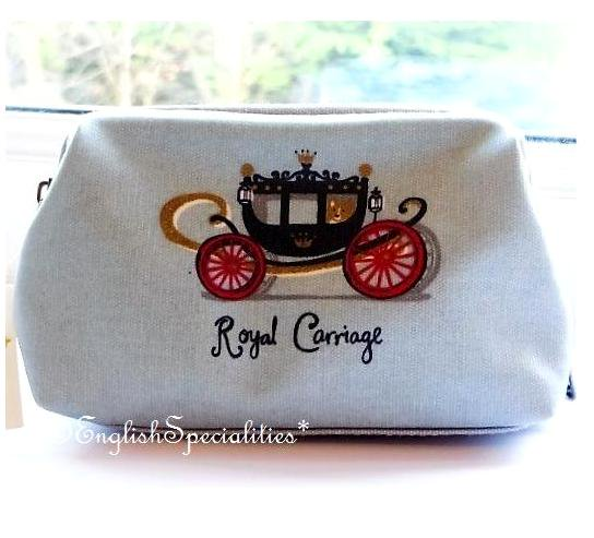 ��Royal Collection��Royal Carriage Cosmetic Bag�?��륭���å� ������ƥ��å� �Хå�