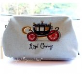 ��Royal Collection��Royal Carriage Cosmetic Bag�?��륭���å� ������ƥ��å� �Хå�