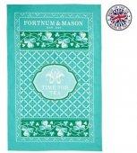 【F&M】Time for Tea'  Tea Towel <br>フォートナム&メイソン タイムフォーティー ティータオル