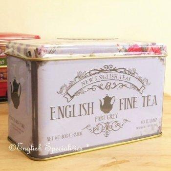 【New English Teas】English Fine Tea Earl Grey 40 Teabag <br>ニューイングリッシュティーズ イングリッシュファインティー アールグレイ